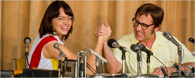 """Chauvinismus gegen Feminismus: Im deutschen Trailer zu """"Battle Of The Sexes"""" duellieren sich Steve Carell und Emma Stone"""