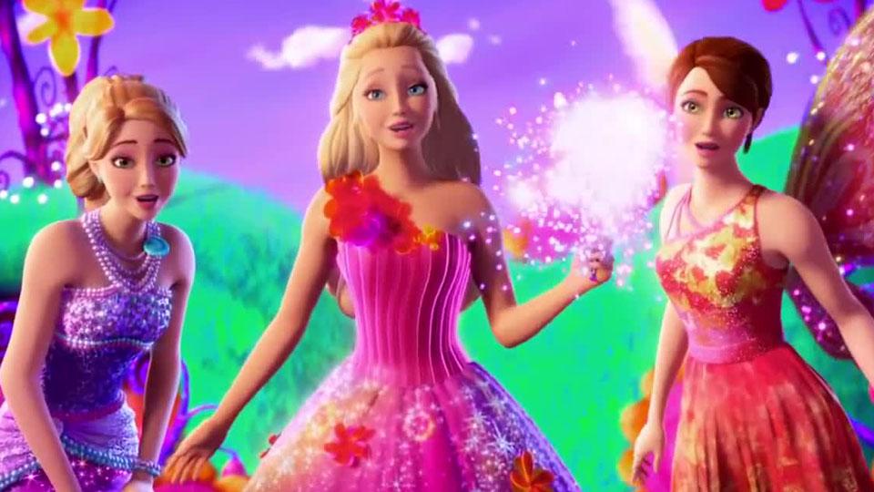 Barbie Geheime Tür