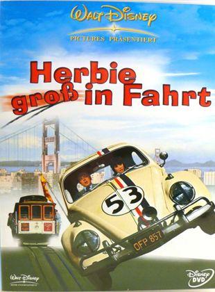 Herbie groß in Fahrt