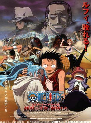 One Piece - Abenteuer in Alabasta, Die Wüstenprinzessin