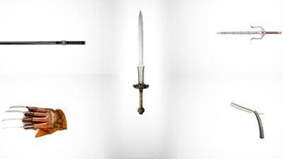 Quiz: Welchen Filmfiguren gehören diese Waffen?