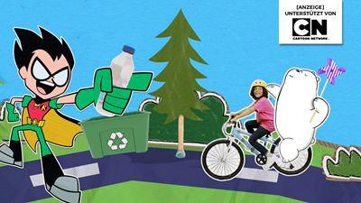 So macht Klimaschutz Spaß: Werdet mit euren Lieblings-Cartoon-Helden zu Klima-Champions!