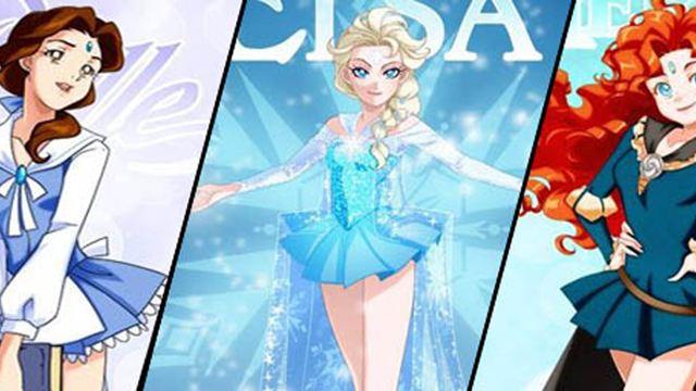 """Bildergalerie: Disney-Prinzessinnen im Look von """"Sailor Moon"""""""