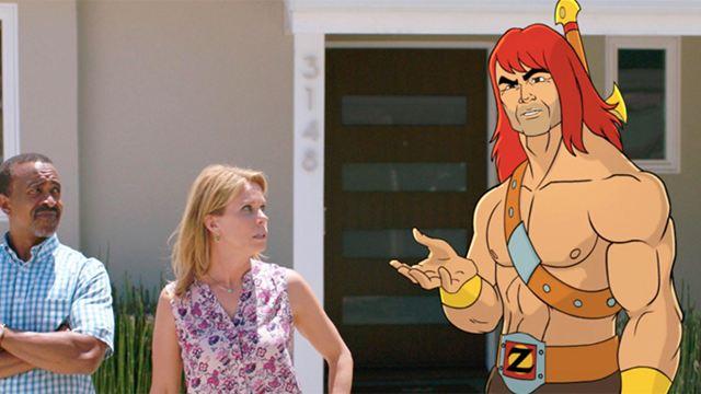 """""""Son Of Zorn"""": Ein animierter Krieger macht im neuen Trailer zur Comedyserie der """"LEGO Movie""""-Macher eine reale Vorstadt unsicher"""