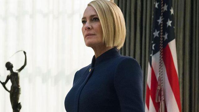 """Im langen Trailer zur 6. Staffel """"House Of Cards"""" tritt Robin Wright in die Fußstapfen von Kevin Spacey"""