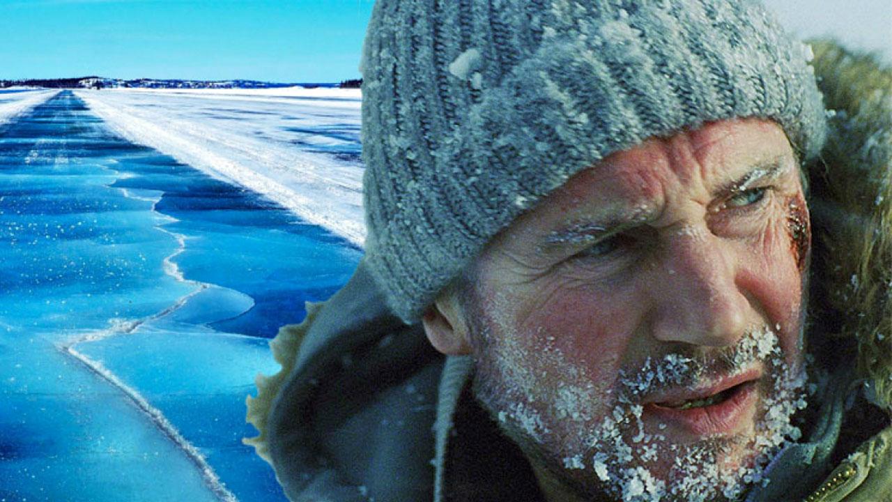 """Liam Neeson und """"John Wick""""-Star auf todesmutiger Mission: Deutscher Trailer zum Action-Thriller """"The Ice Road"""":"""