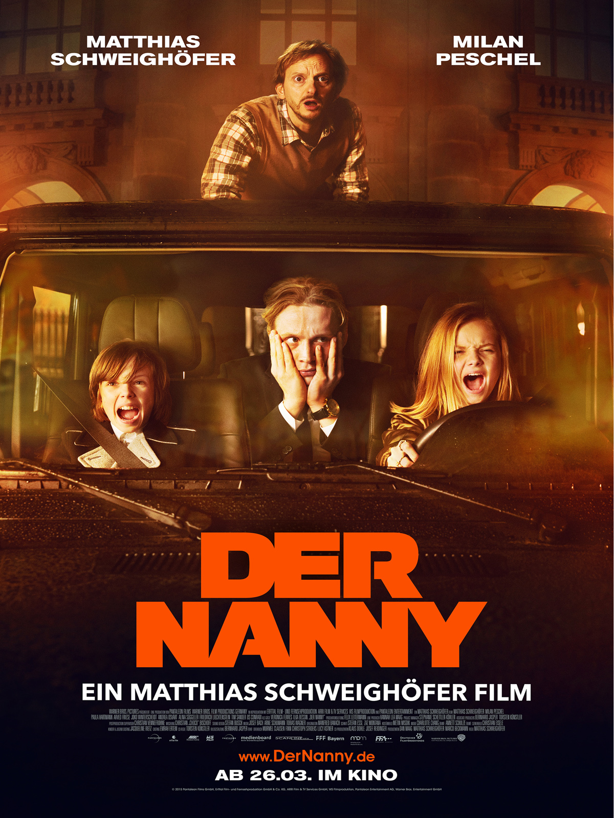 [普雷] 奶爸一家親 Der Nanny (2015 德國片)