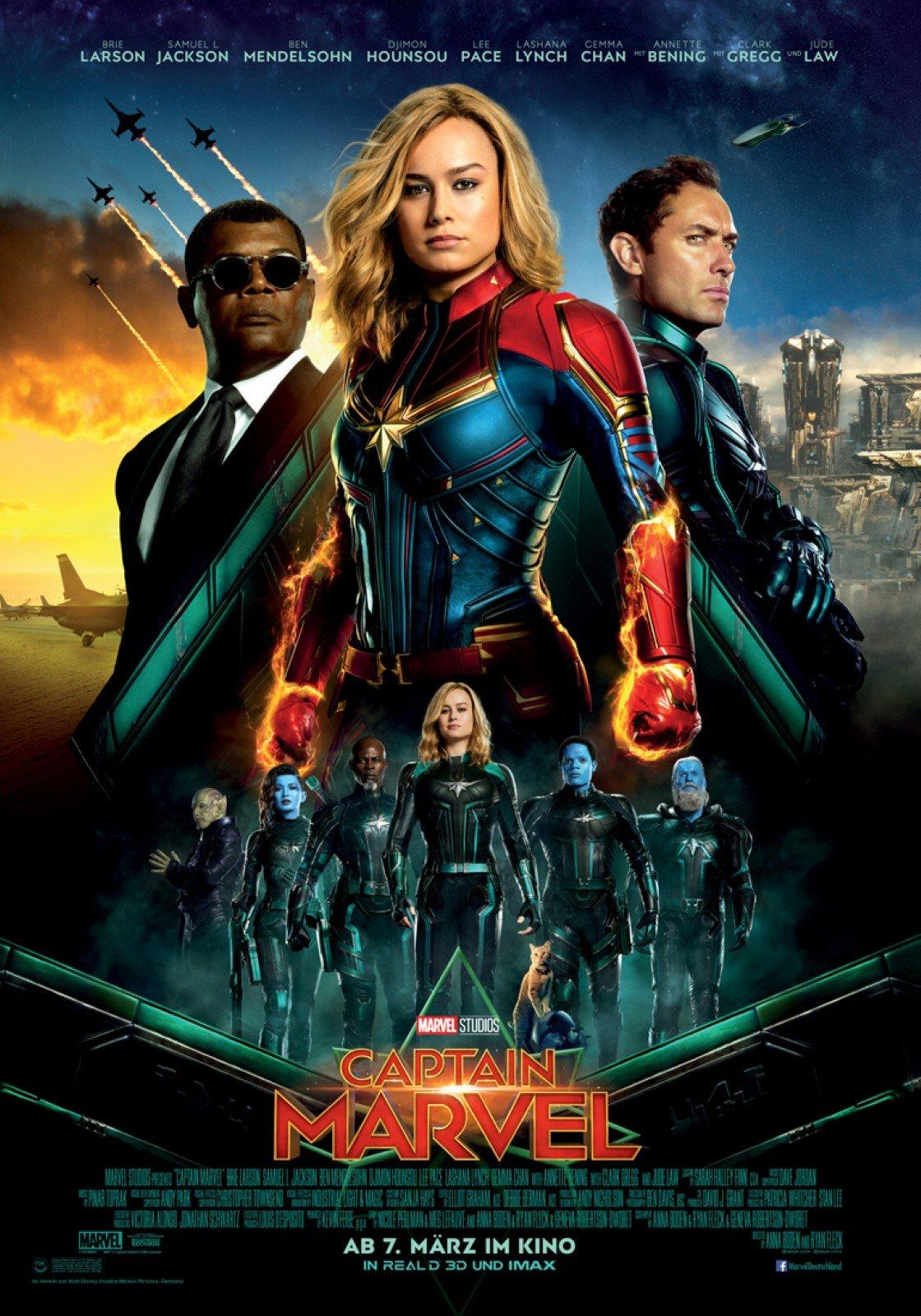 captain marvel - film 2019 - filmstarts.de