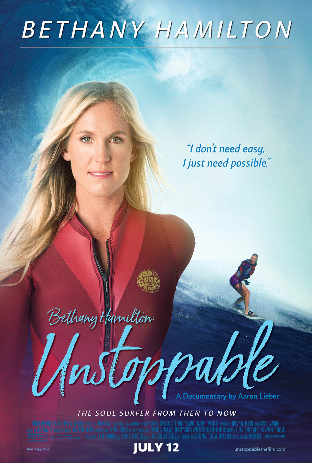 Bethany Hamilton Unstoppable   Film 20   FILMSTARTS.de