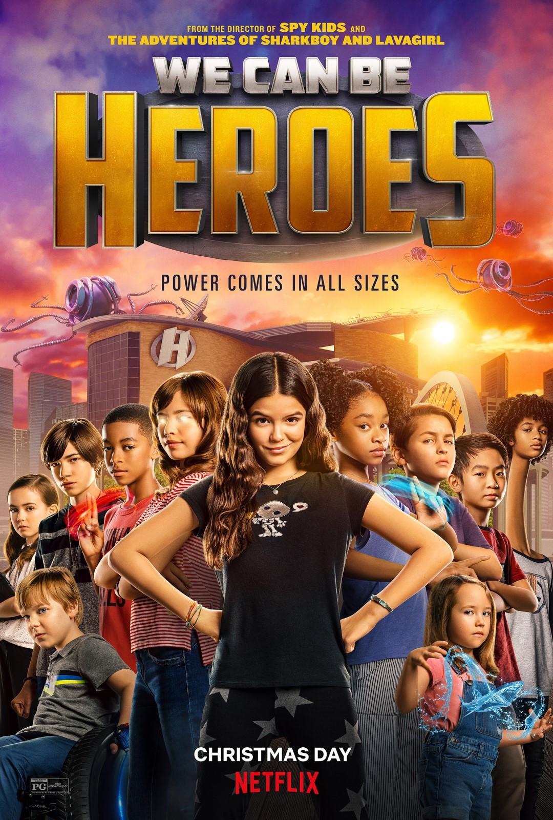 [好雷] 全民小英雄 We Can Be Heroes (Netflix)