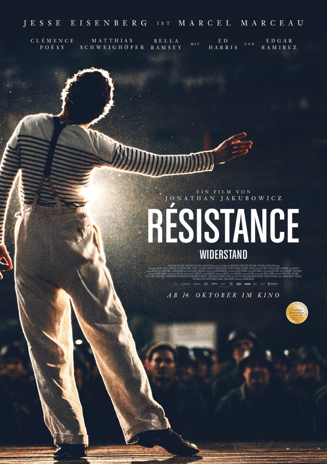 Poster Résistance - Widerstand