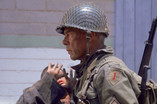 The Big Red One : Bild Lee Marvin, Samuel Fuller