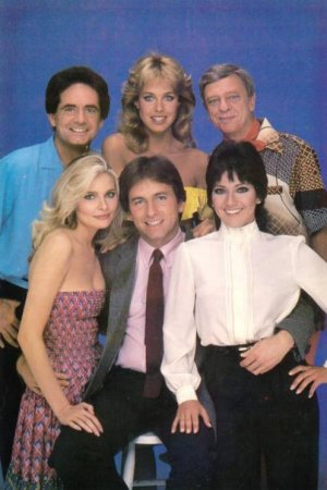 Herzbube mit zwei Damen : Bild Don Knotts, Jenilee Harrison, John Ritter, Priscilla Barnes, Richard Kline
