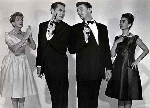 The Grass is Greener: Jean Simmons, Deborah Kerr, Stanley Donen, Robert Mitchum, Cary Grant