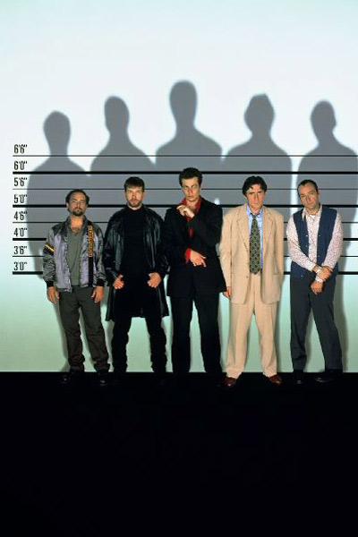 Die üblichen Verdächtigen: Kevin Spacey, Kevin Pollak, Stephen Baldwin, Benicio Del Toro, Gabriel Byrne