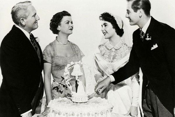 Der Vater der Braut : Bild Don Taylor, Elizabeth Taylor, Joan Bennett, Spencer Tracy