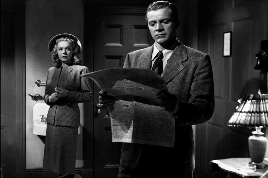 Mord in der Hochzeitsnacht : Bild Alice Faye, Dana Andrews, Otto Preminger
