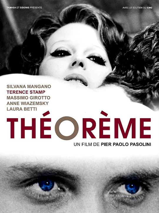 Teorema - Geometrie der Liebe : Kinoposter Pier Paolo Pasolini