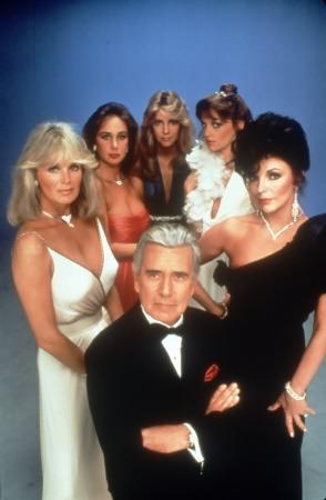 Der Denver-Clan : Bild Heather Locklear, Joan Collins, John Forsythe, Linda Evans, Pamela Bellwood