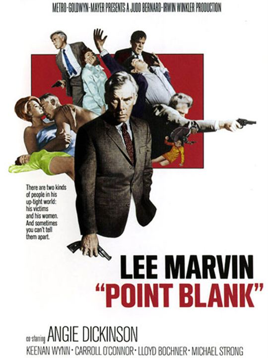 Point Blank : Kinoposter Lee Marvin