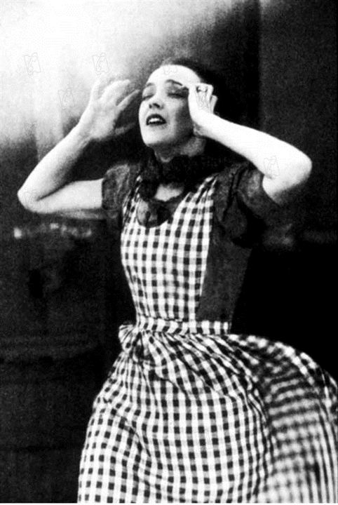 Der Wind : Bild Lillian Gish, Victor Sjöstrom
