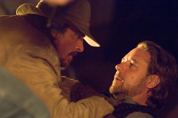 Todeszug nach Yuma: Christian Bale, Russell Crowe