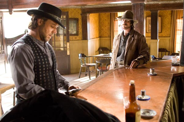 Todeszug nach Yuma: Russell Crowe, Christian Bale