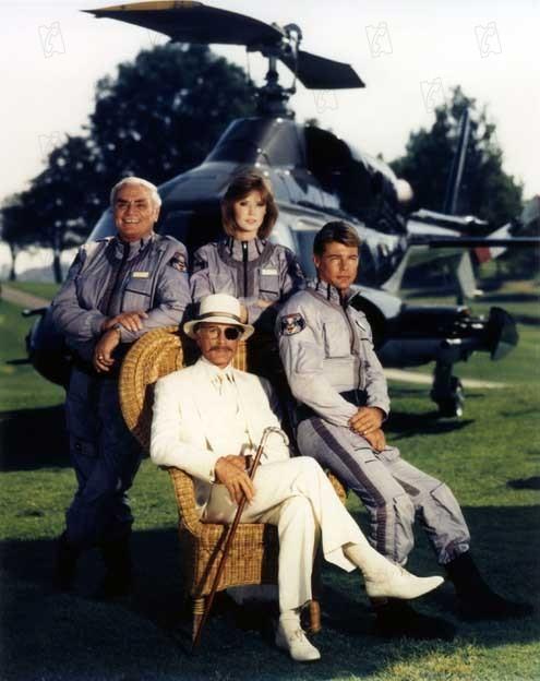 Airwolf : Bild Alex Cord, Ernest Borgnine, Jan-Michael Vincent