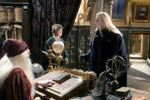 Harry Potter und die Kammer des Schreckens : Bild Daniel Radcliffe, Jason Isaacs, Richard Harris