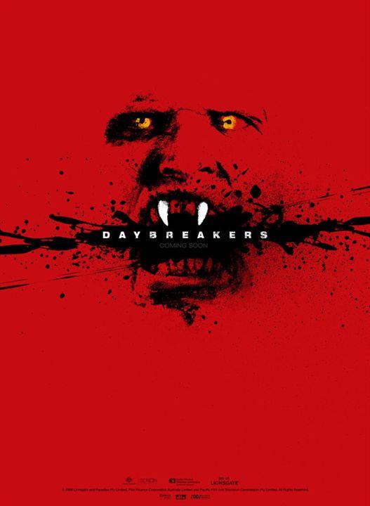 Daybreakers : Kinoposter Michael Spierig, Peter Spierig