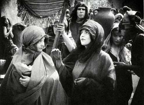 Judith of Bethulia : Bild Blanche Sweet, D.W. Griffith, Lillian Gish