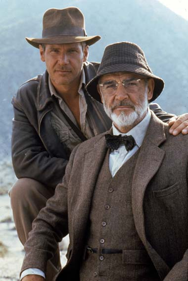 Indiana Jones und der letzte Kreuzzug: Sean Connery, Harrison Ford