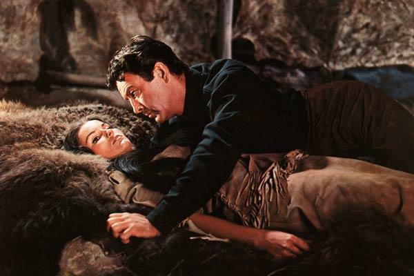 Die letzte Jagd : Bild Debra Paget, Richard Brooks, Stewart Granger