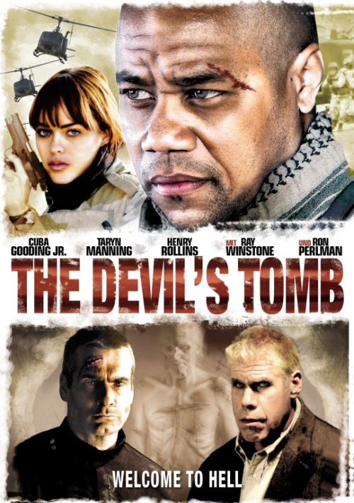 The Devil´s Tomb - Welcome to Hell : Kinoposter Brandon Fobbs, Franky G., Henry Rollins, Jason London, Mia Miller