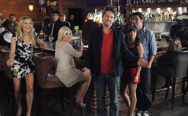 Happy Endings : Bild Adam Pally, Casey Wilson, Elisha Cuthbert, Eliza Coupe, Zachary Knighton
