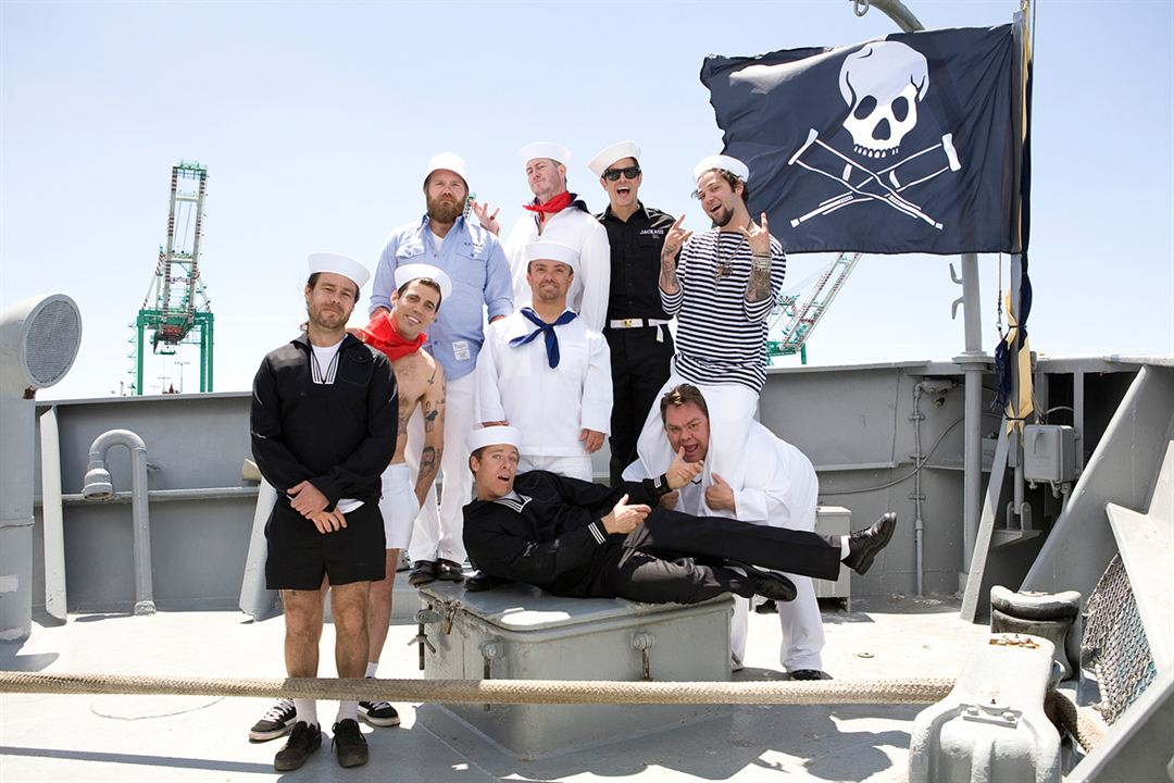 Jackass 3D : Bild Bam Margera, Chris Pontius, Dave England, Ehren McGhehey, Jason Acuña