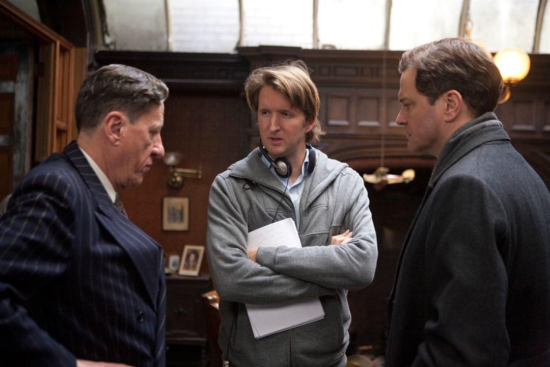 The King's Speech - Die Rede des Königs : Bild Colin Firth, Geoffrey Rush, Tom Hooper
