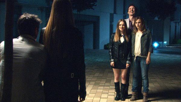 Ángel o demonio : Bild Aura Garrido, Carla Nieto, Jorge Suquet