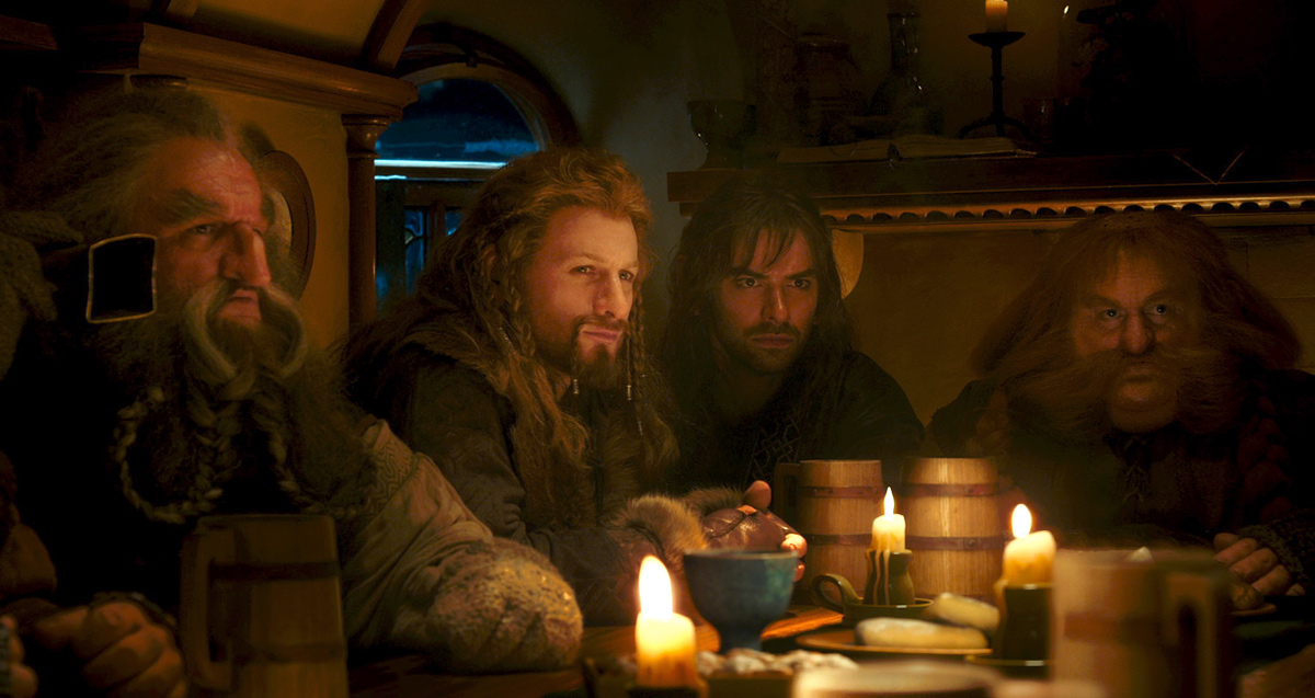 Der Hobbit: Eine unerwartete Reise : Bild Aidan Turner, Dean O'Gorman, John Callen (II), Stephen Hunter