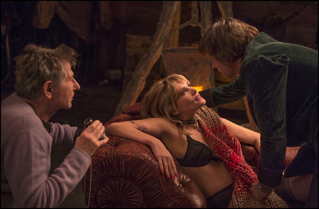 Venus im Pelz: Mathieu Amalric, Roman Polanski, Emmanuelle Seigner