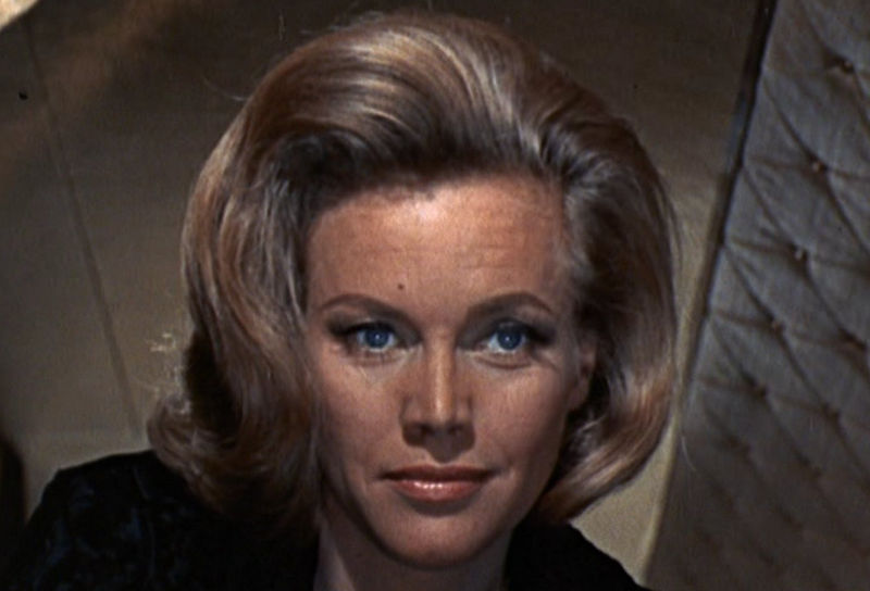 "Pussy Galore (Honor Blackman) in ""James Bond 007 - Goldfinger"""
