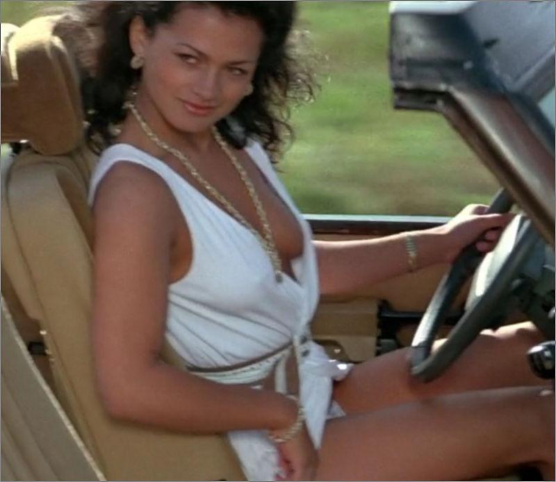 """Bianca (Tina Hudson) in """"James Bond 007 - Octopussy"""""""