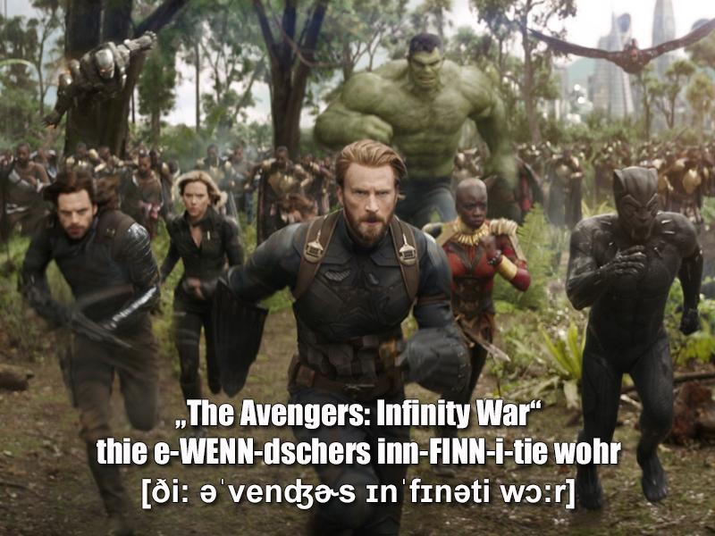 """The Avengers 3: Infinity War"""