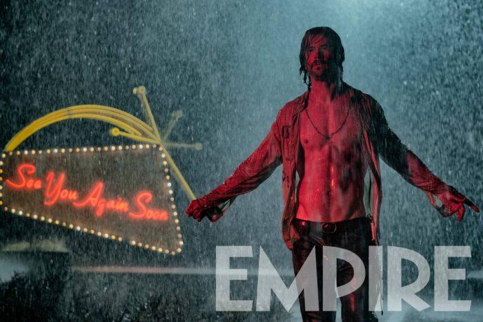 Chris Hemsworth zeigt seine Bauchmuskeln