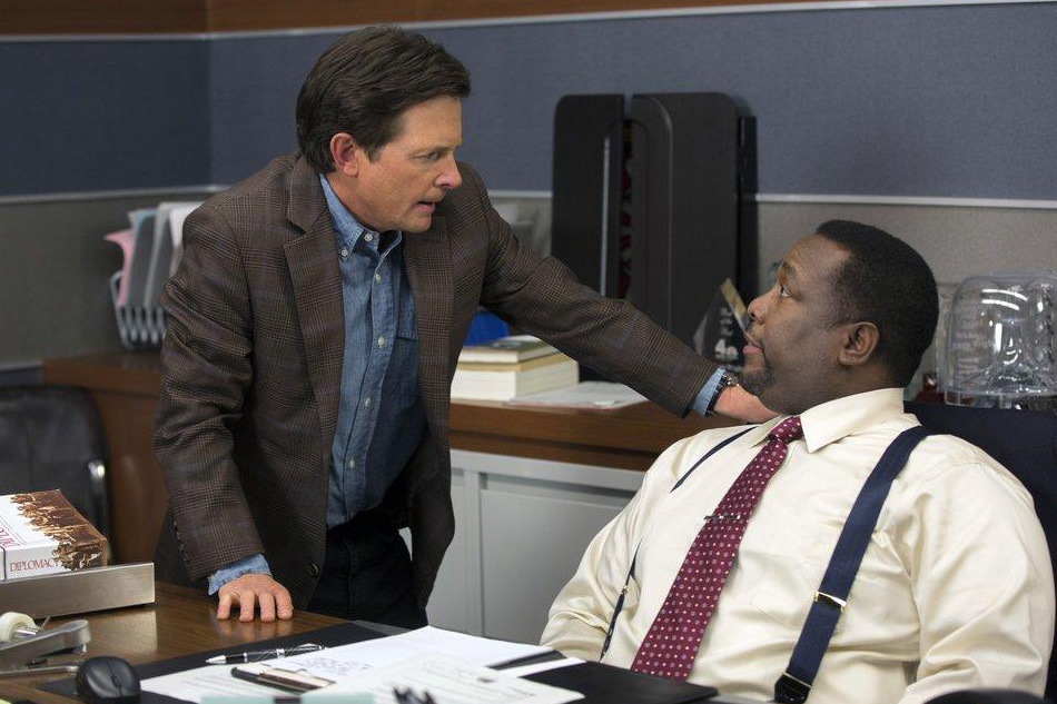 Bild Michael J. Fox, Wendell Pierce