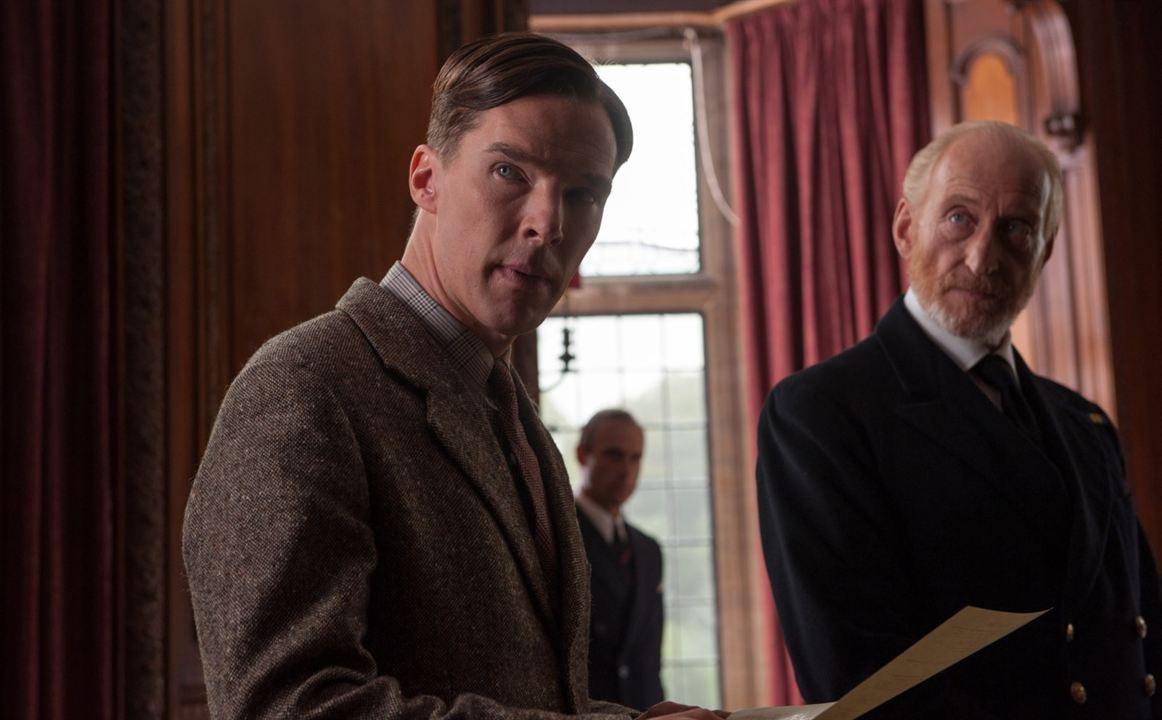 The Imitation Game - Ein streng geheimes Leben : Bild Benedict Cumberbatch, Charles Dance