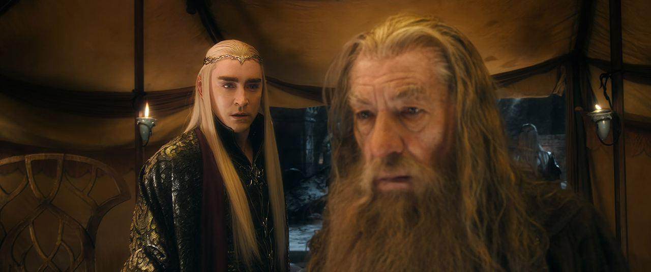 Der Hobbit: Die Schlacht der Fünf Heere : Bild Ian McKellen, Lee Pace