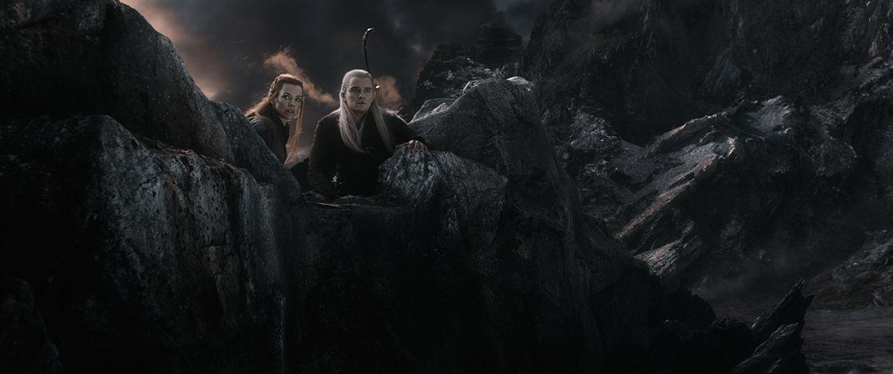 Der Hobbit: Die Schlacht der Fünf Heere : Bild Evangeline Lilly, Orlando Bloom