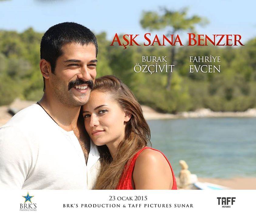 Љубовта наликува на тебе (Aşk Sana Benzer 2015)