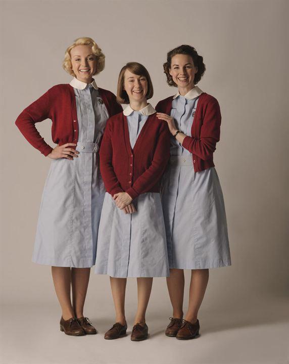 Bild Bryony Hannah, Helen George, Jessica Raine
